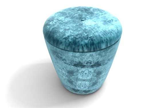Lida - Modern Velvet Stool with removable Lid. Made from Luxurious Velvet by TheVelvetlab®