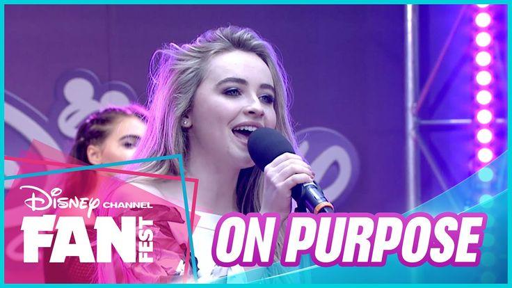 FanFest 2016: Sabrina Carpenter - On Purpose Live & Acoustic - Disney Ch...