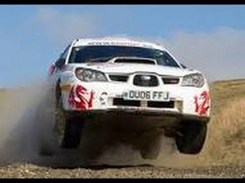 Sara Williams Top Female Rally Driver.