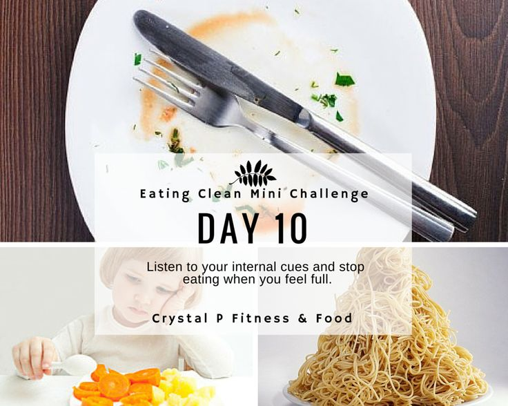 Crystal P Fitness and Food: Day 10 - Eating Clean Mini Challenge