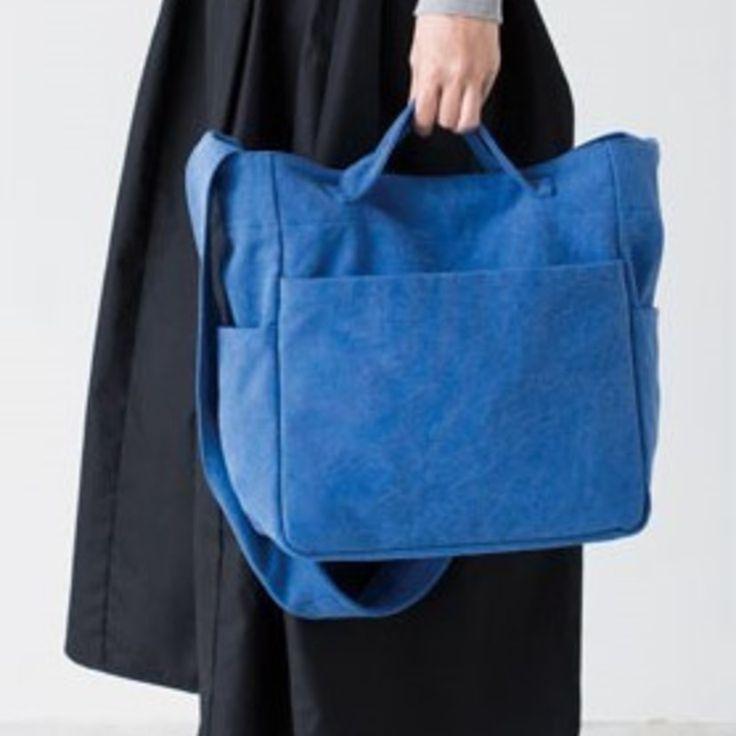 丈夫な手作り帆布バッグ!おしゃれな2wayショルダーバッグの作り方(バッグ) | ぬくもり