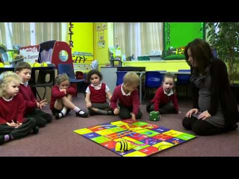 Beebot from TTS used for Numeracy activities - YouTube