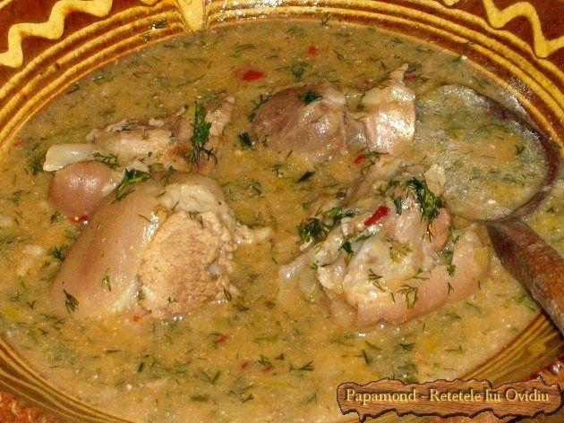Se mânca din el în ziua de bobotează când, conform unei vechi tradiţii, se prepara, odată în an, această mâncare denumită bulmaci cu ciolan.