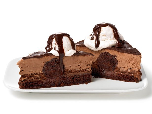 Almost-Famous Chocolate Mousse Cake Recipe : Food Network Kitchen : Food Network - FoodNetwork.com