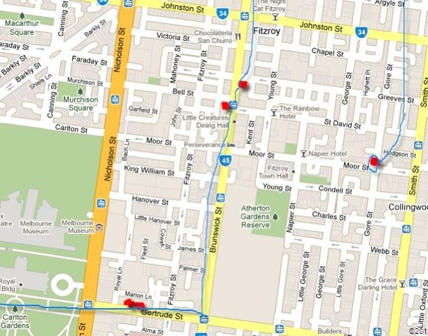 Offspring filming locations in Melbourne