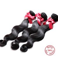 EVET Products 7A Unprocessed Peruvian Virgin Hair Body Wave Cheap Human Natural Hair Extensions Weave Peruvian Hair Bundles 3pcs