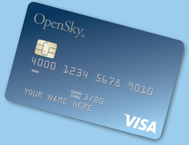 Open Sky ®  Secured Visa® Credit Card – Rebuild Credit History Now