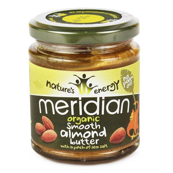 Meridian Almond Butter, Organic 170g