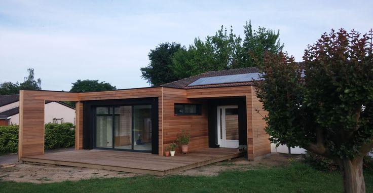 41 best images about architecture agrandissement de maison for Agrandissement maison 22