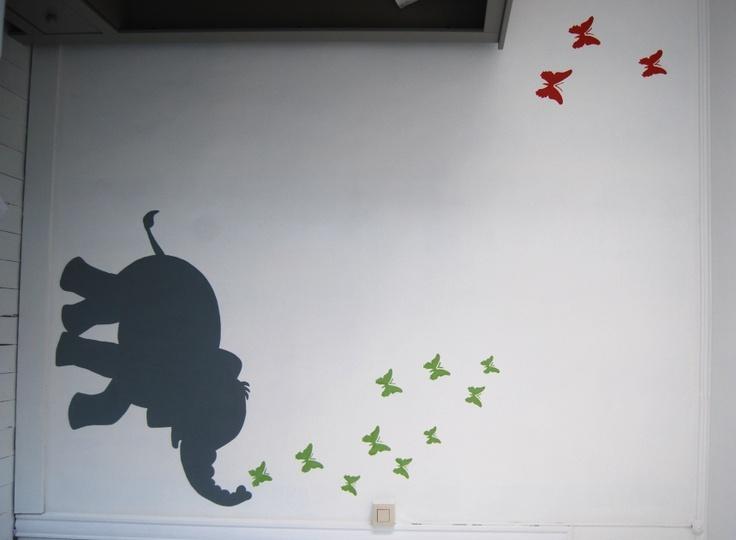 muurschildering-olifant.JPG (859×631)