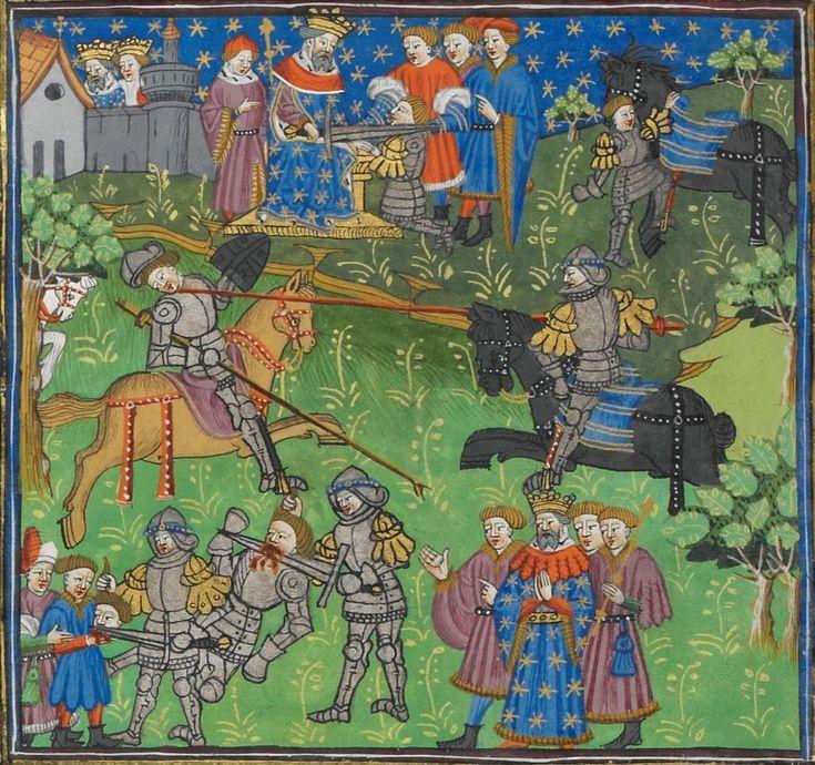 Poems and Romances (the 'Talbot Shrewsbury book') 1444-1445 Royal MS 15 E VI Folio 209v