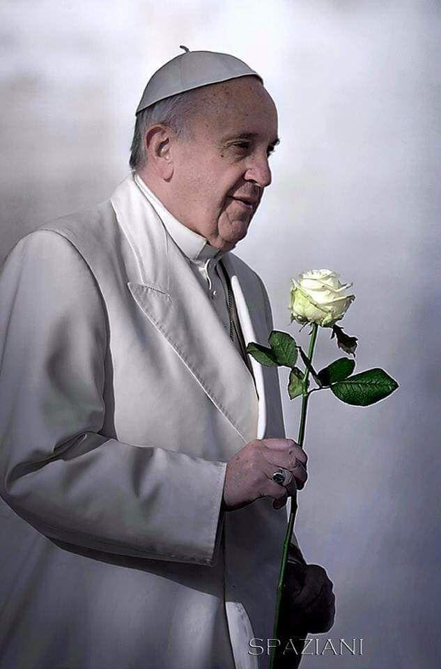 """De verdad que el Papa es alguien fuera de lo común ! Mira su nuevo mensaje:   SER FELIZ. !!     Papa Francisco I         """"Puedes tener defe..."""