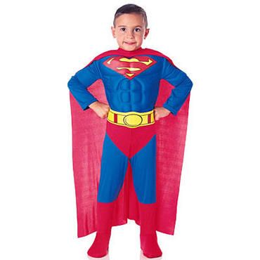 SUPERMAN Kids' CostumeHalloweencostumes, Chest Superman, Deluxe Muscle, Halloween Costumes, Toddlers Costumes, Superman Costumes, Costumes Halloween, Boys Costumes, Muscle Chest