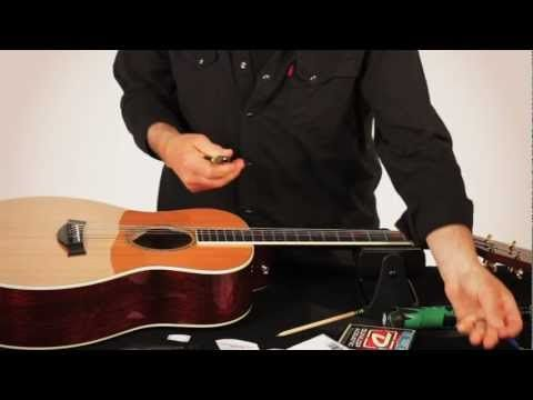 ▶ RESTRING: WITH GARY BRAWER - ACOUSTIC GUITAR - YouTube