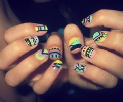 love the colors. Definitely doing this for summer!