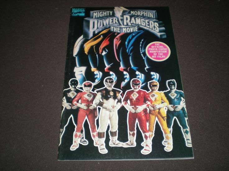 Mighty Morphin Power Rangers The Movie 1 Photo, (1995), Marvel Comics  C05 by HeroesRealm on Etsy https://www.etsy.com/listing/252833090/mighty-morphin-power-rangers-the-movie-1