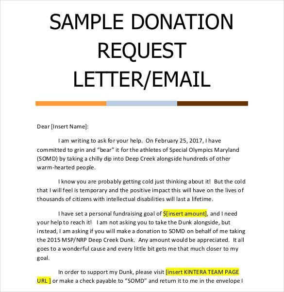 donation letter template free word pdf documents sample letters asking for donations fundraiser help request