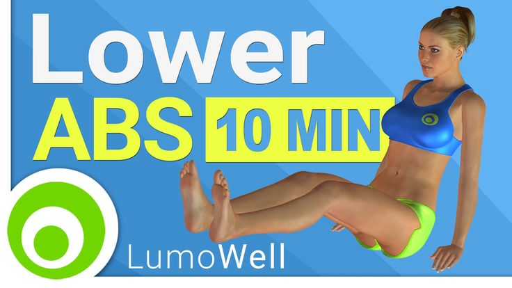 Lower AB Workout: 10 Minute Exercises for Lower Abs