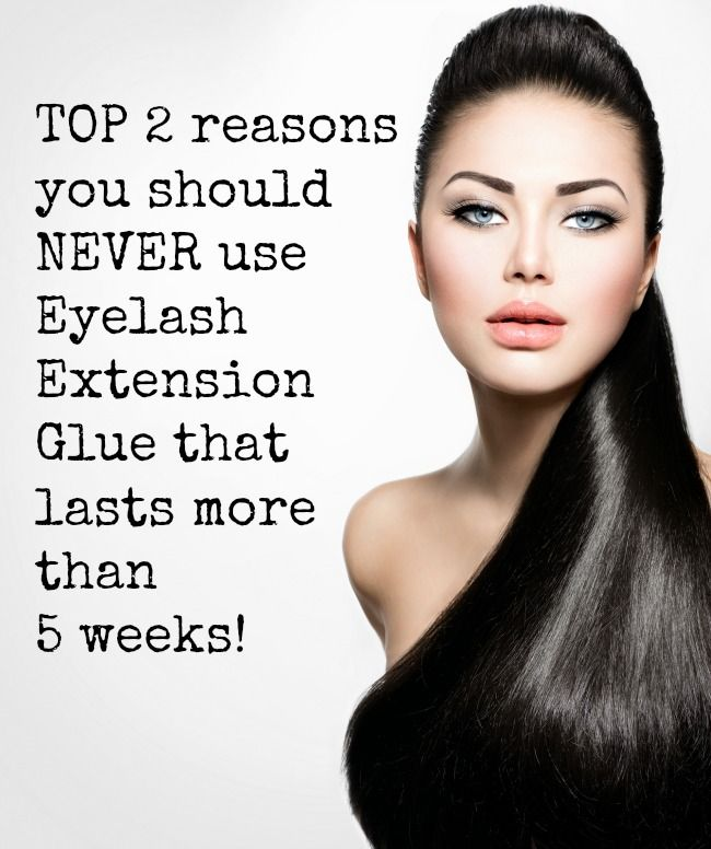 Using Eyelash Extension Glues that hold TOO LONG, can cost you money- and make you work for free!  Learn why here!