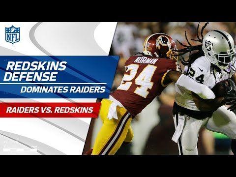 Washington's Defense Dominates Oakland | Raiders vs. Redskins | Wk 3 Player Highlights - YouTube