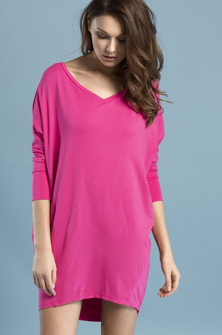 Sukienka - Answear - różowa / fuksja Flow