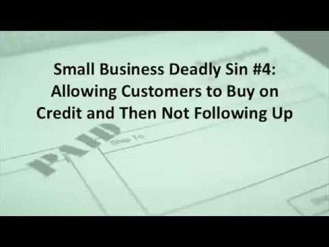 Small Business Bookkeeping Deadly Sin #4 #smallbusinessvideo #accountingsoftwarevideo