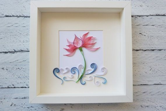 quilled paper art by martArtQuilling on Etsy