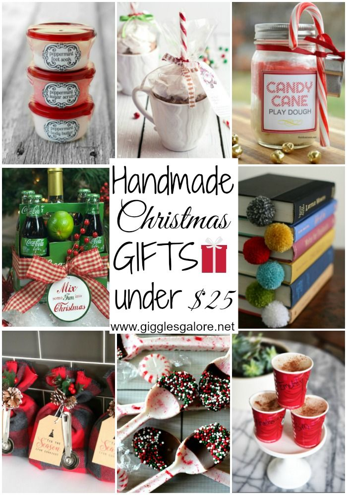 Handmade Gifts Under $25 via Giggles Galore