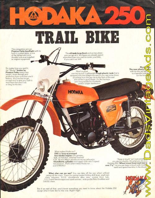Hodaka Motorcycles Collectors Edition