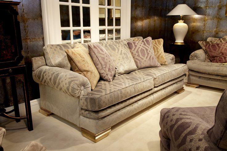 Duresta at Interiors show 2014 - NEC. Kubla Khan large sofa