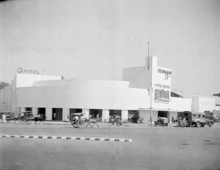 Capitol Theater van Surabaya, Indonesië (1950)