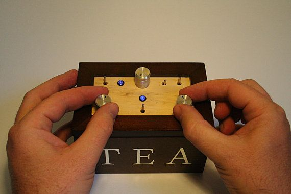 Handmade Wooden Synth The RizeTronic made to order by rarebeasts