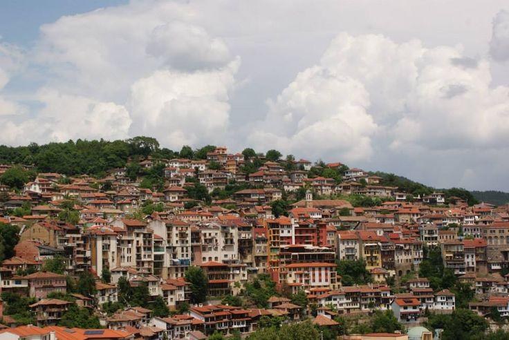 View from our room.  Veliko Tarnovo, Bulgaria, 2014