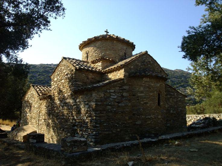 Byzantine church _ Naxos _ Greece _ Cyclades  by FindinGreece