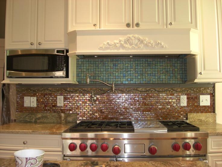 Kitchen backsplash tile sold at Ceramiche Tile and Stone