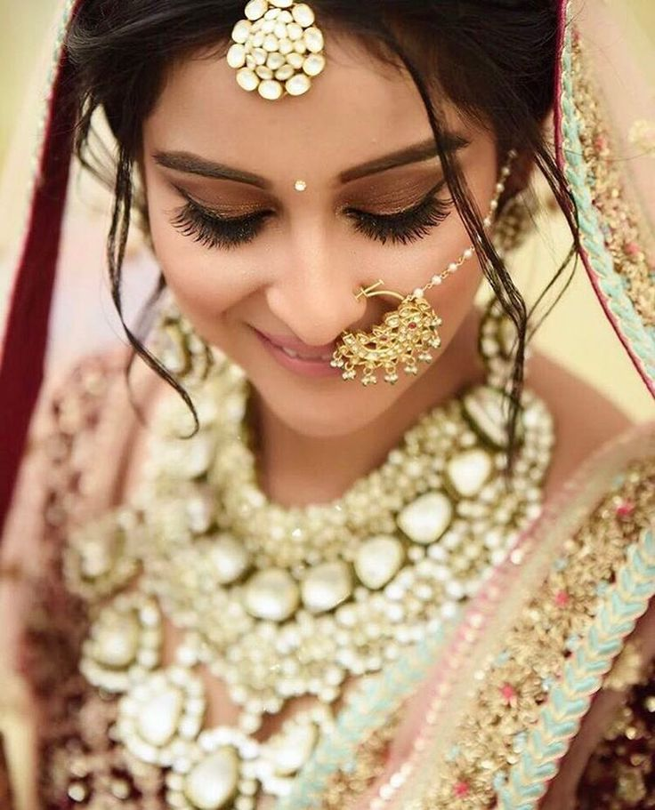 14 best Nose Rings images on Pinterest | Nose rings, Indian bridal ...