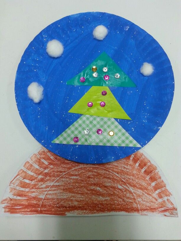 Christmas Snowglobe Craft