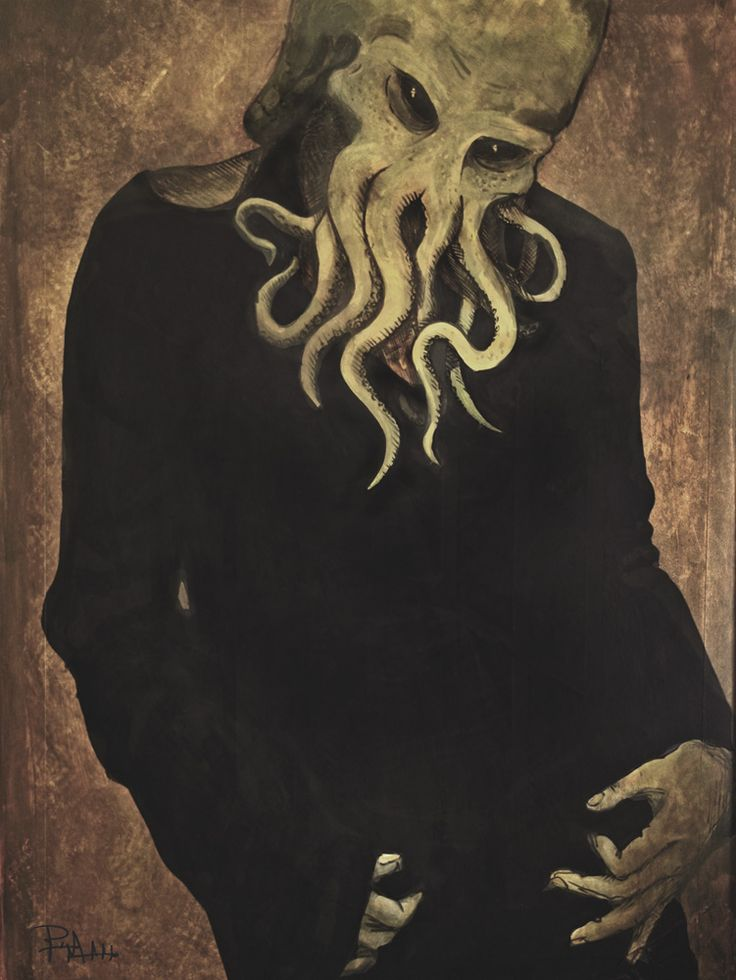 """""""Cthulhu Vogue"""" 2007 Painting"""