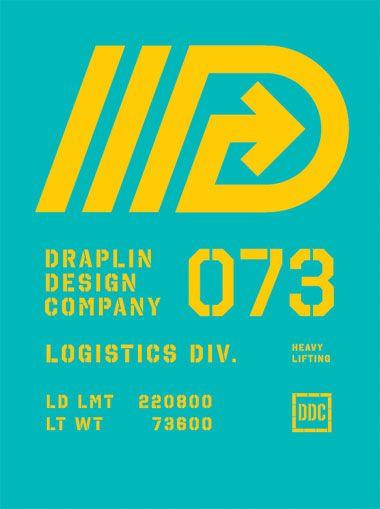 Poster by Aaron Draplin / Draplin Design Co