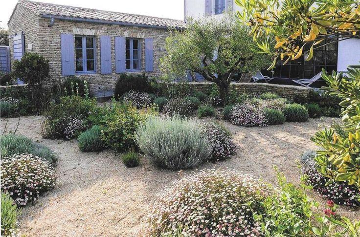 Jardin Sec 3 Mediterraner Garten Garten Garten Landschaftsbau