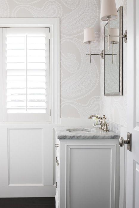 25+ Best Ideas About Wallpaper For Bathrooms On Pinterest
