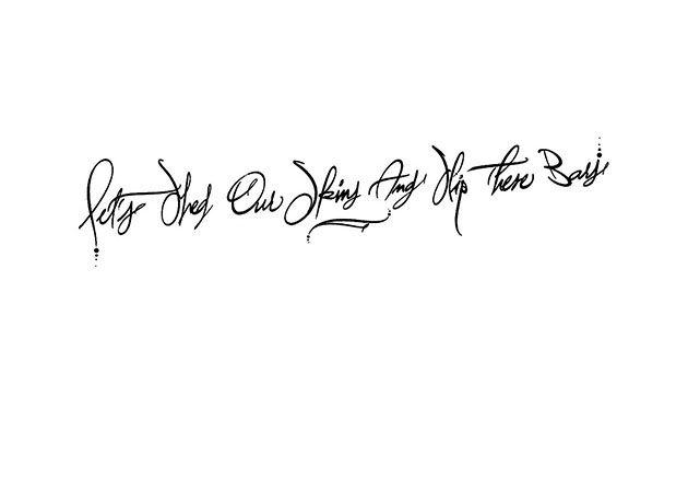 Tatouage Citation Anglaise English Quote Tattoo Citation Tatouage Citation Anglaise Citation