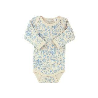 WILSON & FRENCHY BLUE LONG SLEEVE BODYSUIT - $29.95 - 100% cotton blue rib long sleeve bodysuit. #sweetcreations #baby #boy #fashion #designer #wilson&frenchy