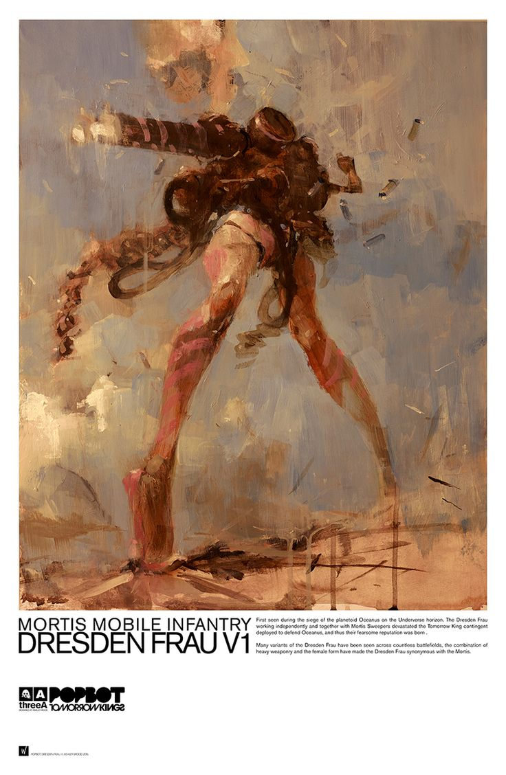 DRESDEN FRAU by Ashley Wood                                                                                                                                                                                 More