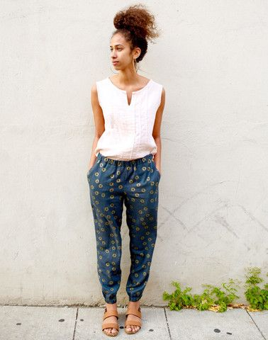 Made By Rae luna pants sewing pattern, find out more and read reviews of this dressmaking pattern