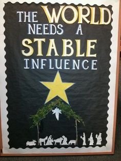 catholic christmas bulletin board ideas - Google Search