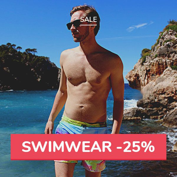 Get ready for summer 😎 Only this weekend ⬇ Swimsuits & Swim Shorts➡ 25% off❗