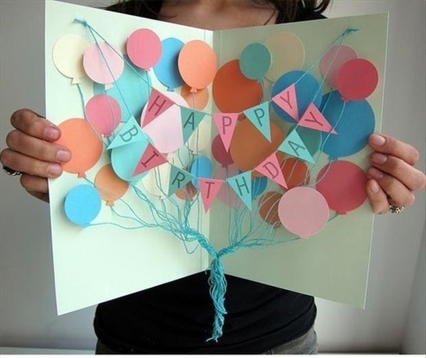 17 mejores ideas sobre tarjetas de cumplea os hechas a - Ideas para sorprender en un cumpleanos ...