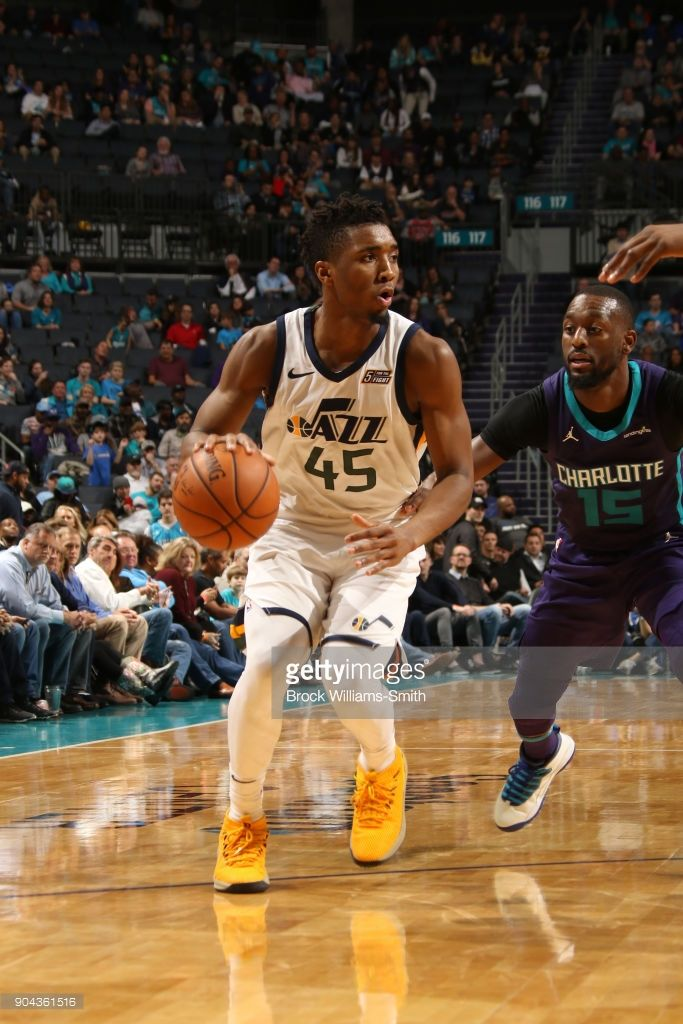 b0d1b3c59 News Photo   Donovan Mitchell of the Utah Jazz handles the...