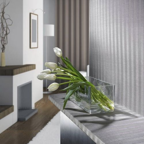 Pannello decorativo per arredamento di interni / in maglia metallica / in laminato / metallizzato SPIGA TESSITURA TELE METALLICHE ROSSI OLIVIERO